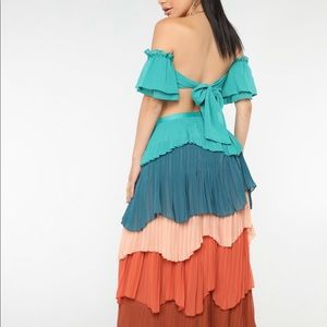 Gypsy style 2 piece outfit